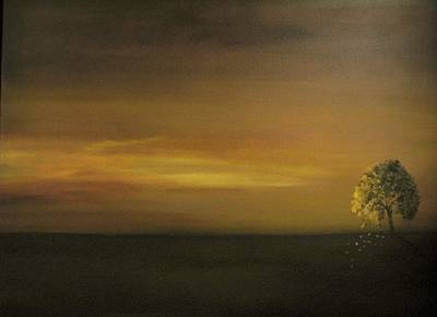 Painting - Silence Is Golden by Carol Sweetwood