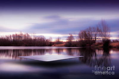 Photograph - Silence Lake  by Franziskus Pfleghart