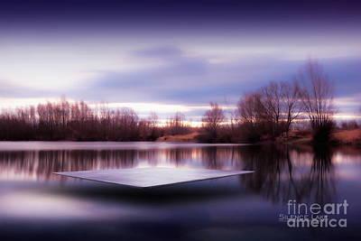 Silence Lake  Art Print
