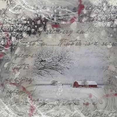 Silence Art Print by Nadine Berg