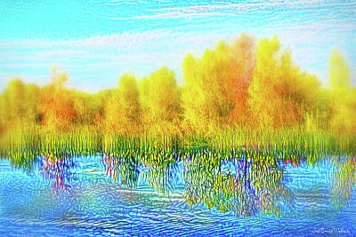Digital Art - Silence Of Autumn Stillness by Joel Bruce Wallach