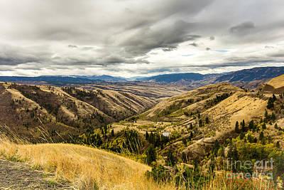 Photograph - Silence Of Whitebird Canyon Idaho Landscape Art By Kaylyn Franks by Omaste Witkowski