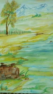 Painting - Silence by Seema Sharma