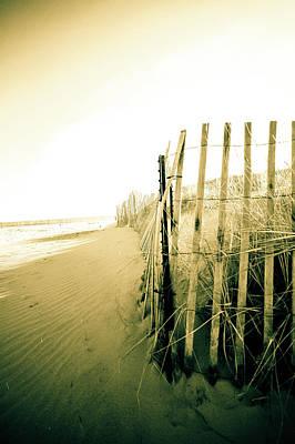 Beach Photograph - Silence by Susan Schumann