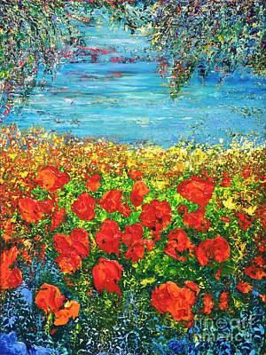 Painting -  Silence by Teresa Wegrzyn