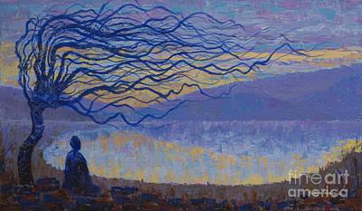 Silence Art Print by Yuliya Glavnaya