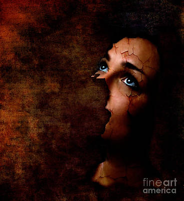 Depression Digital Art - Silenced by Jacky Gerritsen