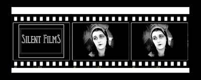 Silent Black And White Movie Clip Original by Bruce Iorio