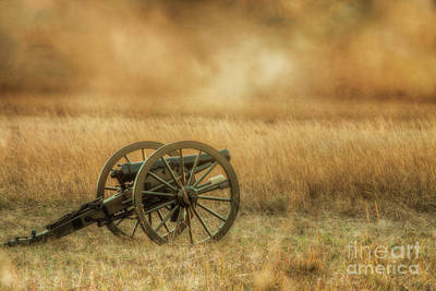 Digital Art - Silent Cannons At Gettysburg by Randy Steele