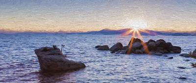 Sunset Digital Art - Silent Dusk II by Jon Glaser