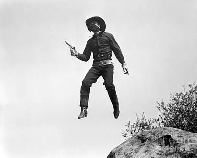 Photograph - Silent Film Still: Western by Granger