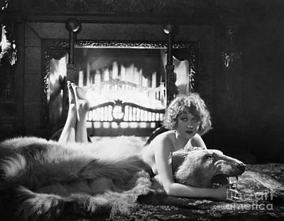 Photograph - Silent Film Still: Woman by Granger
