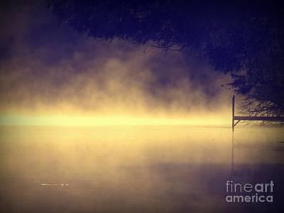 Photograph - Silent Lake by France Laliberte