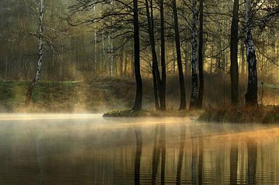 Morning Light Wall Art - Photograph - Silent Light. by Agnieszka Jankowska