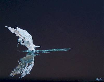 Soaring Painting - Silent Lucidity by Bill Werle