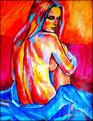Painting - Silent Muse by Helena Wierzbicki