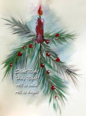 Painting - Silent Night by Dorothy Maier