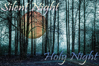 Photograph - Silent Night Holy Night by Debra and Dave Vanderlaan