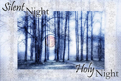 Photograph - Silent Night Holy Night II by Debra and Dave Vanderlaan