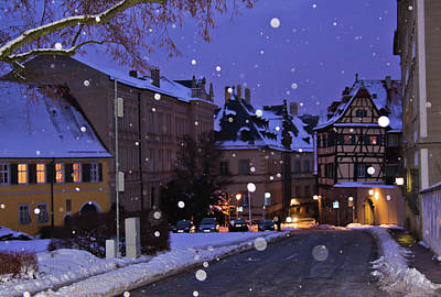 Photograph - Silent Night In Bamberg, Germany #2 by Tatiana Travelways