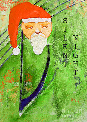 Painting - Silent Night by Sandy McIntire
