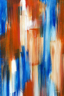 Painting - Silent Rhythm Abstract by Christina Rollo