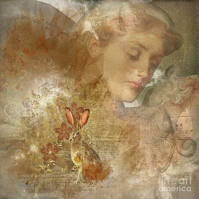 Nature Woman Digital Art - Silent Seer by Monique Hierck