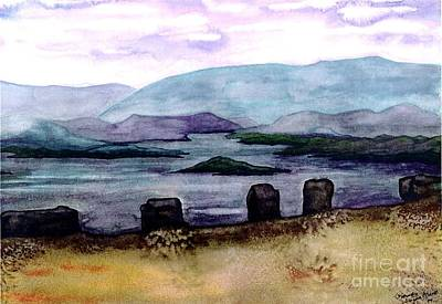 Painting - Silent Sentinels by Patricia Griffin Brett