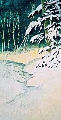 Painting - Silent Stream by Carolyn Rosenberger