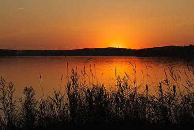 Silent Sunset Art Print