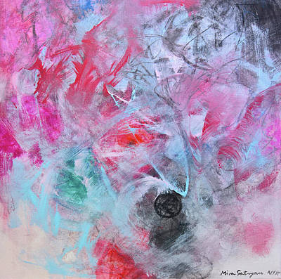 Painting - Silent Wishes 3 by Mira Satryan