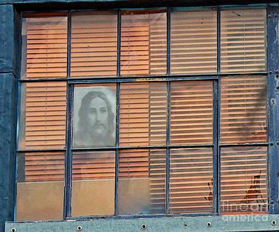 Jesus Art Photograph - Silently Calling by Joe Jake Pratt