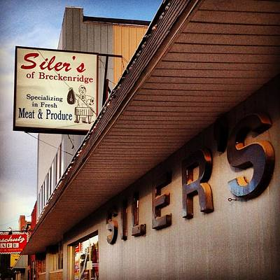 Photograph - Siler's by Chris Brown