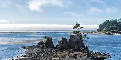 Mcherdering Photograph - Siletz Bay by Mike Herdering