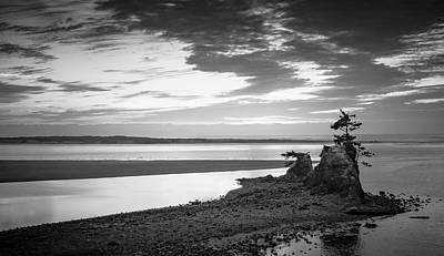 Photograph - Siletz Bay Serenity by Don Schwartz