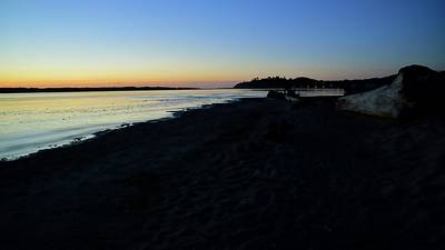 Photograph - Siletz Bay Twilight 6130 by Jerry Sodorff