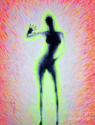 Painting - Silhouette #3 by Viktor Lazarev