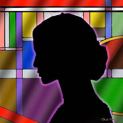 Digital Art - Silhouette by Chuck Staley