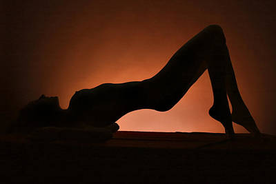 Erotic Fine Art Photograph - Silhouette by Naman Imagery