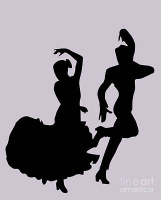 Photograph - Silhouette Flamenco by Brenda Kean