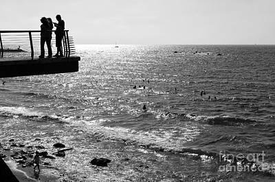 Photograph - Silhouette In Tel Aviv by John Rizzuto