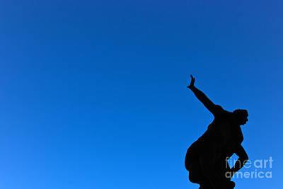 Photograph - Silhouette The Sky by David Warrington
