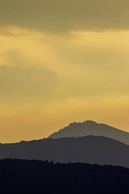 Photograph - Silhouettes by John De Bord