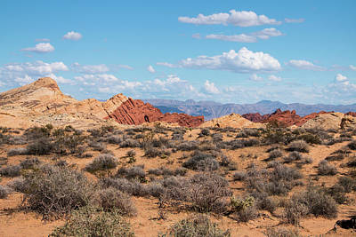 Photograph - Silica Dome - Valley Of Fire by Kristia Adams