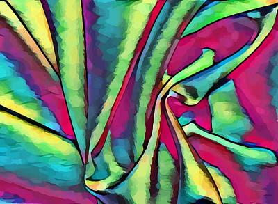 Digital Art - Silk Abstract Still Life Art by Elizavella Bowers