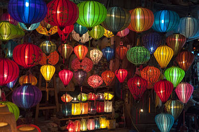 Photograph - Silk Lanterns by Rob Hemphill
