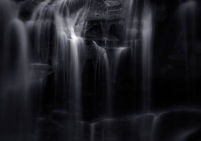 Photograph - Silk Waterfall In West Virginia by Dan Sproul