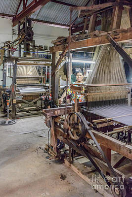 Photograph - Silk Weaving 2 by Werner Padarin