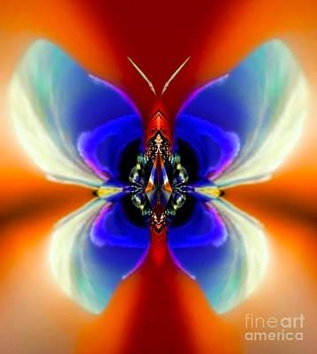 Blue Healer Digital Art - Silkea Cloudycreek by Raymel Garcia