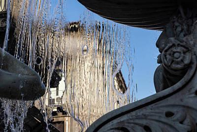 Photograph - Silken Fountain Curtain -  by Georgia Mizuleva